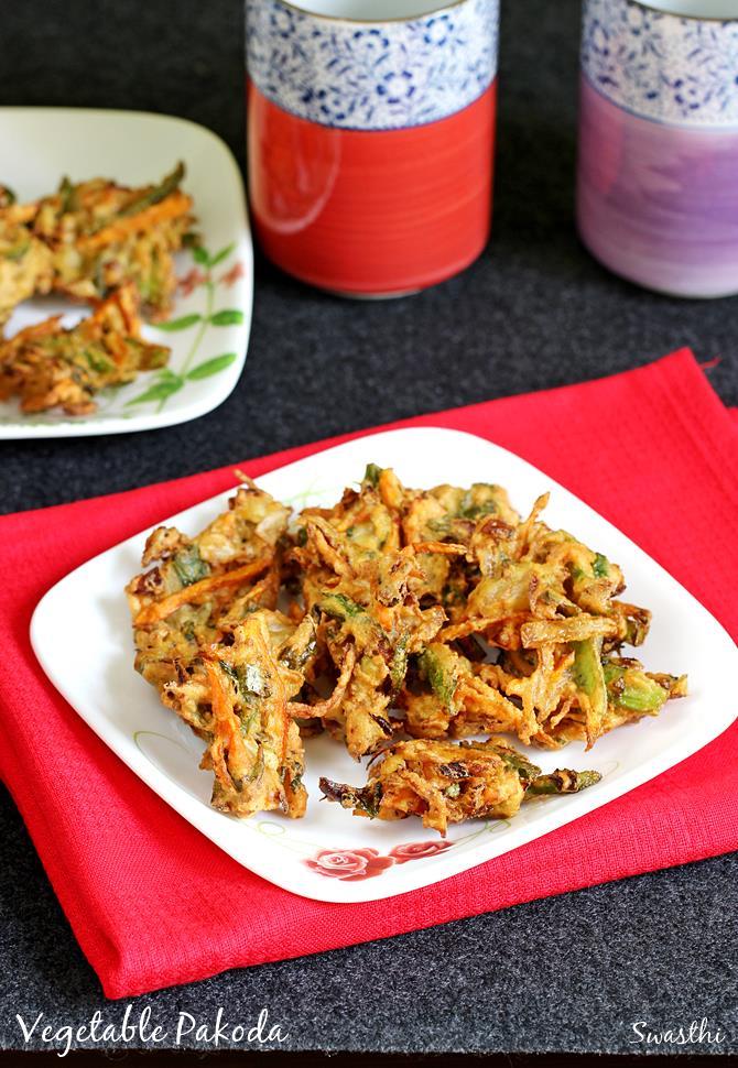 vegetable pakora swasthis recipes