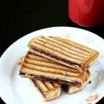 Cheese chocolate sandwich recipe | Cream cheese choco sandwich