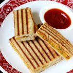 Aloo grilled sandwich recipe | Grilled potato sandwich recipe