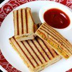 Aloo grilled sandwich recipe | Grilled potato sandwich recipe