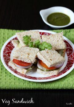 Bombay veg sandwich recipe | How to make bombay sandwich recipe