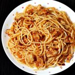 Chicken pasta recipe | Quick chicken spaghetti recipe