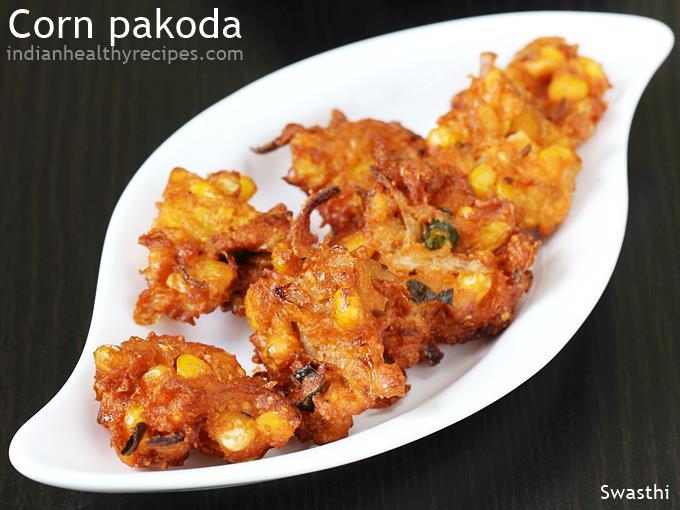 corn pakoda recipe