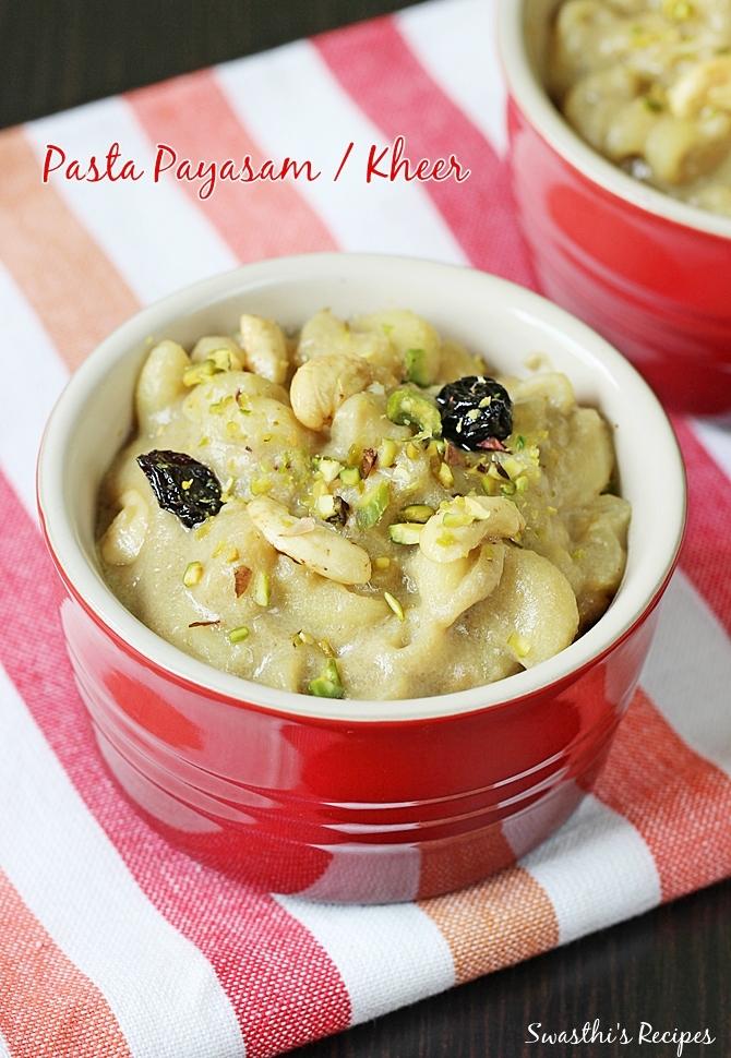Pasta Payasam Recipe