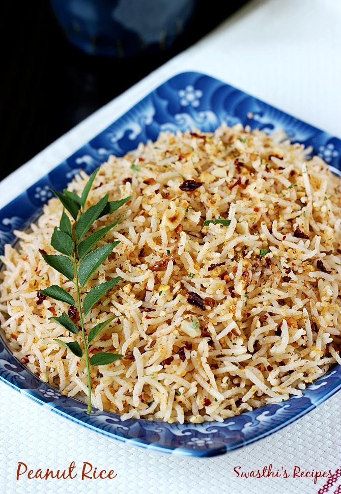 Peanut rice recipe south indian style peanut rice recipe peanut rice recipe forumfinder Choice Image