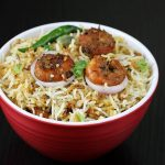 Prawn pulao recipe | How to make easy prawn pulao recipe