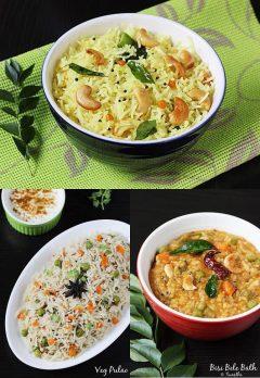 Top 10 rice recipes videos | 10 Indian rice recipes under 30 mins | Veg rice recipes