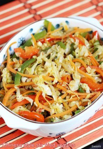 Stir fried cabbage recipe | Chinese style cabbage stir fry recipe