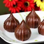 Chocolate modak recipe |  How to make chocolate modak recipe