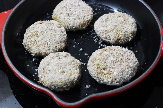 pan fry meal maker cutlet