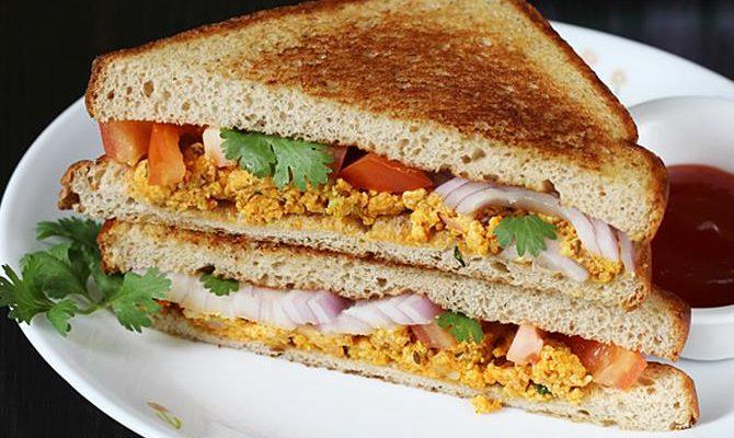 Sandwich recipes | 31 Easy sandwich recipes for breakfast or snack