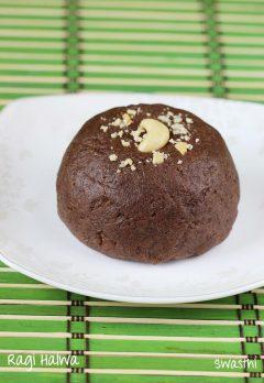 Ragi halwa recipe | How to make ragi halwa | Ragi recipes