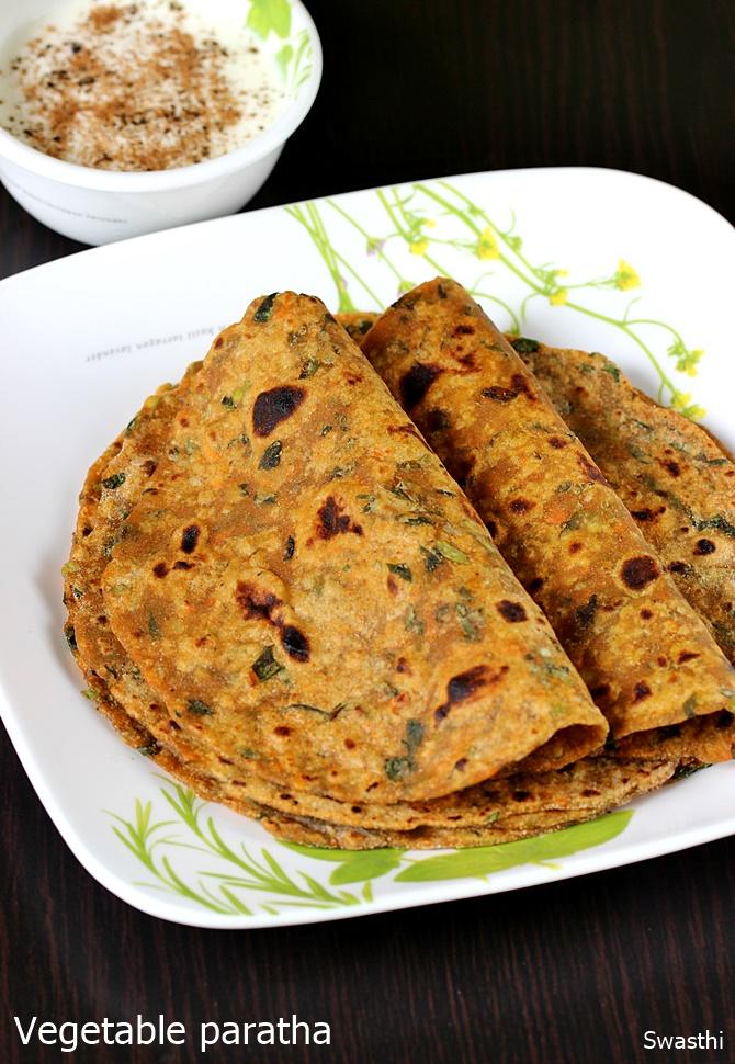veg paratha recipe