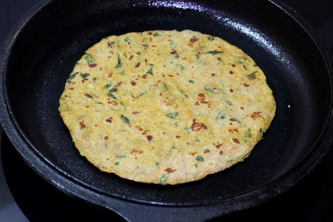 veg paratha