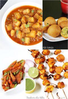 Potato recipes | Aloo recipes | 37 Indian potato recipes