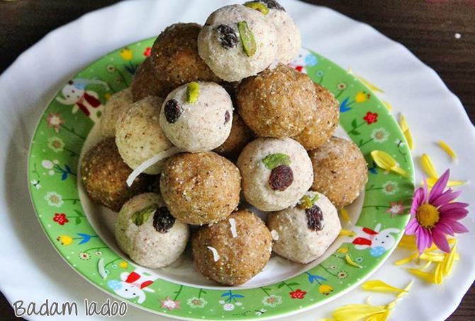 badam ladoo for ganesh chaturthi sweet recipes