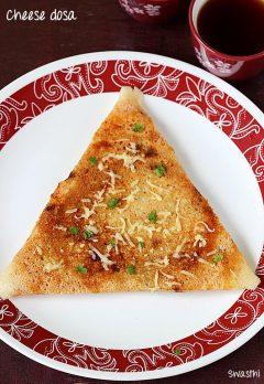 Cheese dosa recipe | How to make crispy cheese dosa recipe