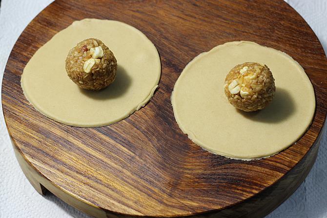 stuffed puri for fried modak recipe