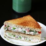 Veg mayonnaise sandwich recipe | How to make mayo sandwich recipe