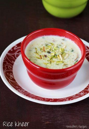 Rice kheer recipe video   Chawal ki kheer   How to make rice kheer recipe