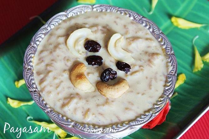 rice payasam in ganesh chaturthi sweet recipes