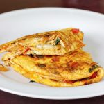 Simple cheese omelette recipe | How to make cheese omelette recipe