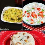 Top 10 Indian breakfast recipes   10 Best Easy Indian breakfast recipes