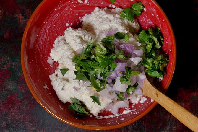 onions to make rava vada recipe