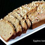 Eggless banana bread recipe | How to make vegan banana bread recipe