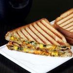 Veg cheese sandwich recipe   Vegetable cheese grilled sandwich recipe