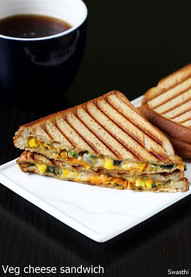 Veg cheese sandwich recipe vegetable cheese grilled sandwich recipe veg cheese sandwich recipe forumfinder Choice Image
