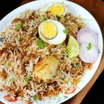 Egg roast biryani recipe video |  How to make egg dum biryani recipe