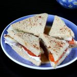 Tomato cucumber sandwich recipe | Simple tomato cucumber sandwich recipe