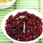 Beetroot thoran recipe with video | Kerala style beetroot stir fry recipe