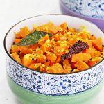 Carrot poriyal recipe | Tamilnadu style carrot stir fry recipe with coconut