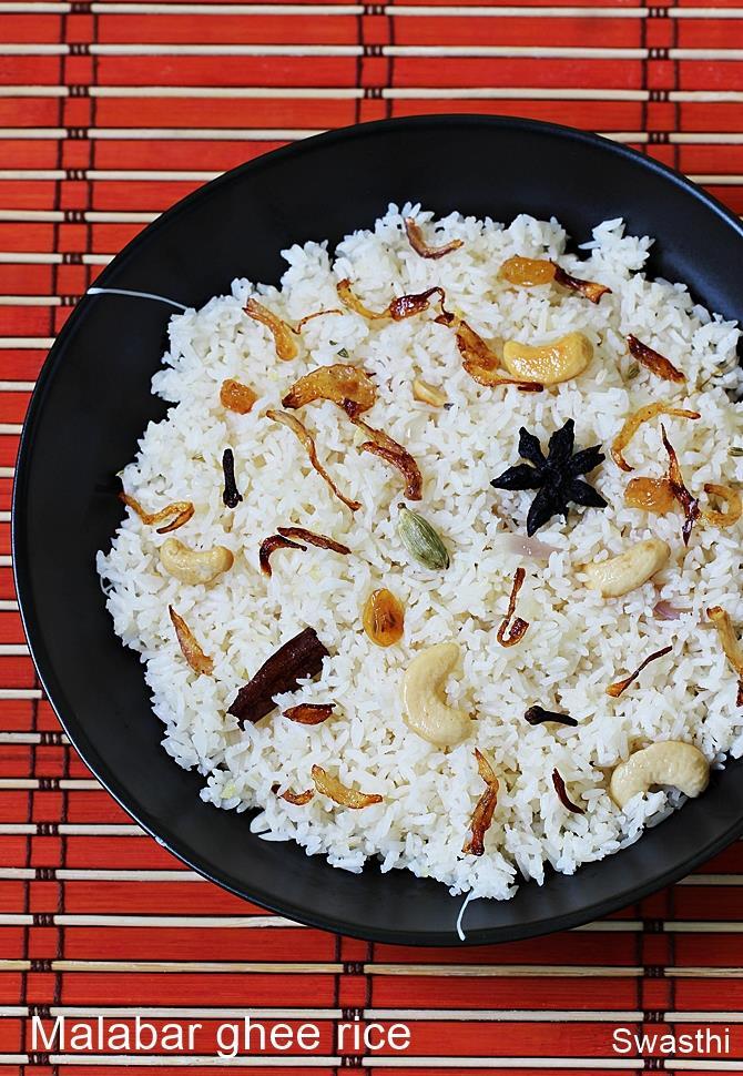 kerala ghee rice recipe