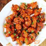 Gobi manchurian recipe video   How to make crispy cauliflower manchurian