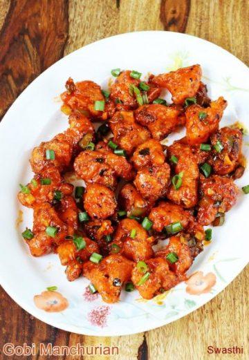 Gobi manchurian recipe video | How to make crispy cauliflower manchurian