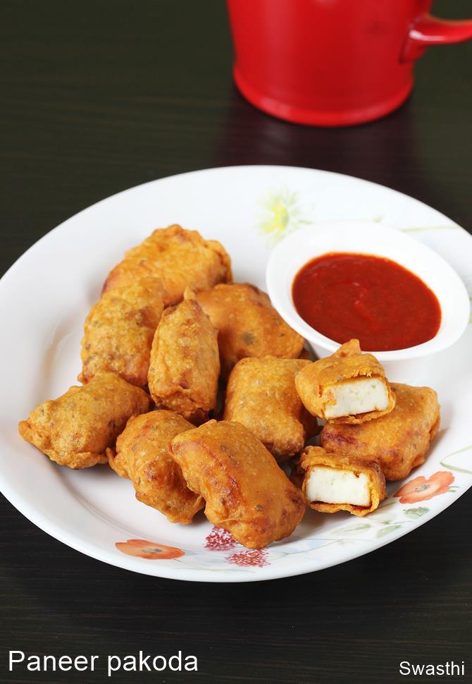 Paneer pakora recipe video | How to make spicy paneer pakoda
