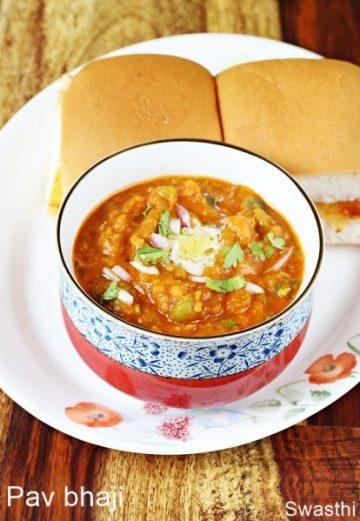 Pav bhaji recipe | How to make mumbai pav bhaji recipe
