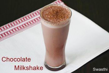 Chocolate shake recipe   Chocolate milkshake recipe   Cold chocolate milk