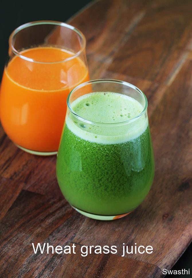wheatgrass juice recipe