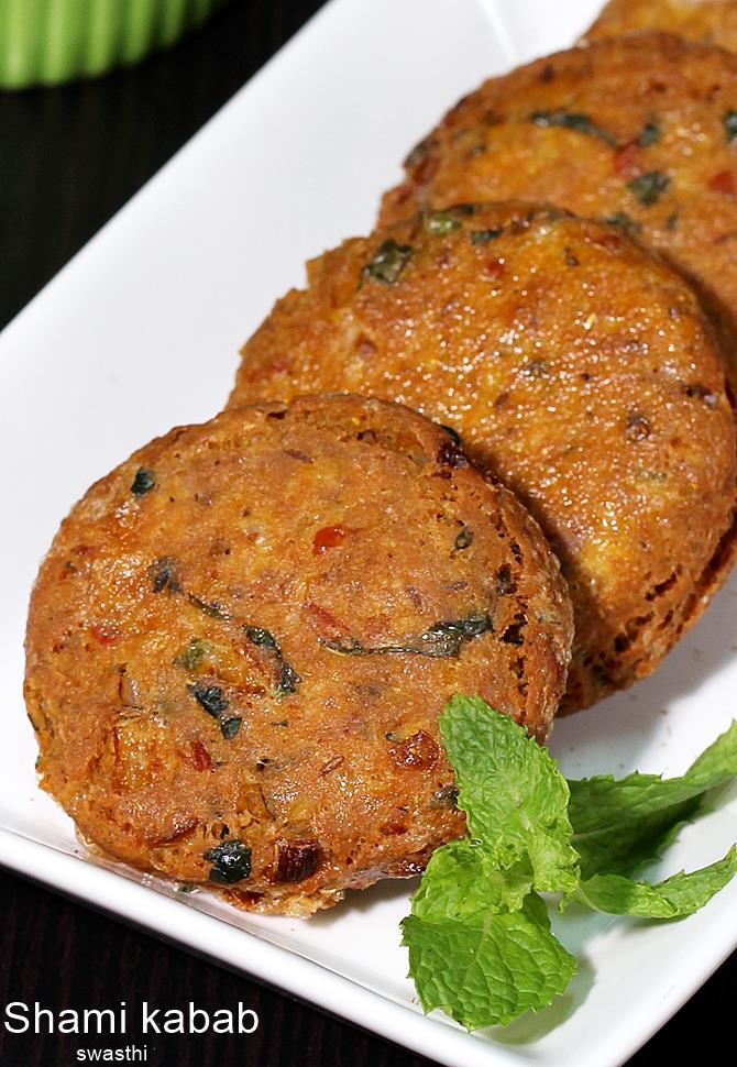 Chicken Shami Kabab Recipe Video How To Make Chicken