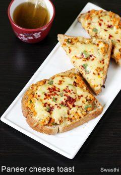 Paneer cheese toast recipe |  Paneer cheese sandwich recipe video