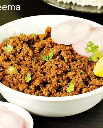 Keema recipe | Mutton keema recipe |  How to cook keema curry