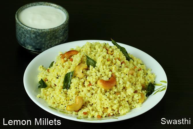 millet rice recipe