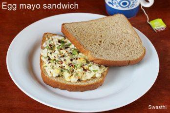 Egg mayo sandwich recipe | Egg salad sandwich recipe