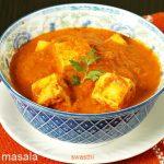 Paneer masala recipe video | How to make paneer masala