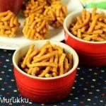 Sweet murukku recipe | Manoharam sweet recipe | Bellam kommulu