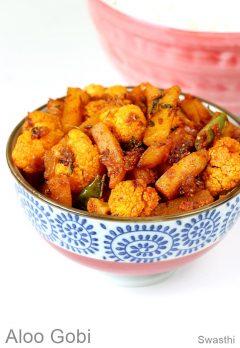 Aloo gobi ki sabji   How to make aloo gobi dry   Cauliflower potato recipe
